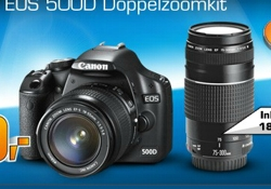 Canon EOS 500D Kit (Quelle: Saturn)