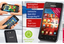Samsung Galaxy S Advance (Quelle: Aldi Süd)