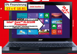 Acer Aspire V3-571G (Quelle: Media Markt)