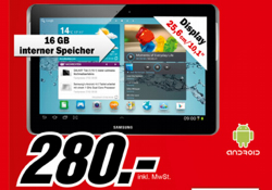 Samsung Galaxy Tab 2 10.1 WiFi (Quelle: Media Markt)