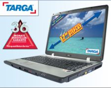 Lidl Traveller 1720 MT34: Targa Notebook mit AMD Turion 64 ...